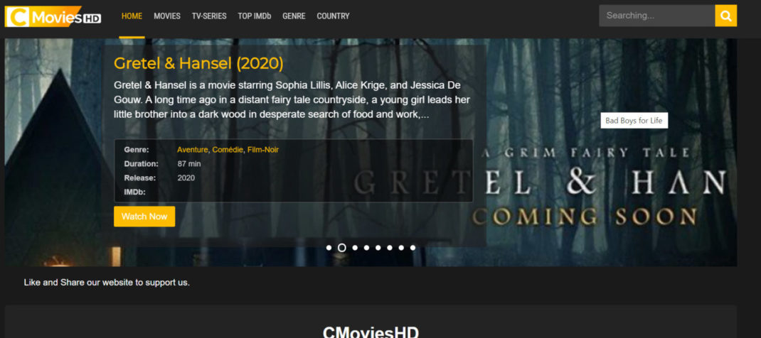 <strong>CMovies HD</strong>