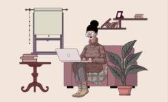 Freelance working