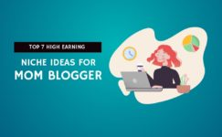 high earning niche ideas for mom blogger