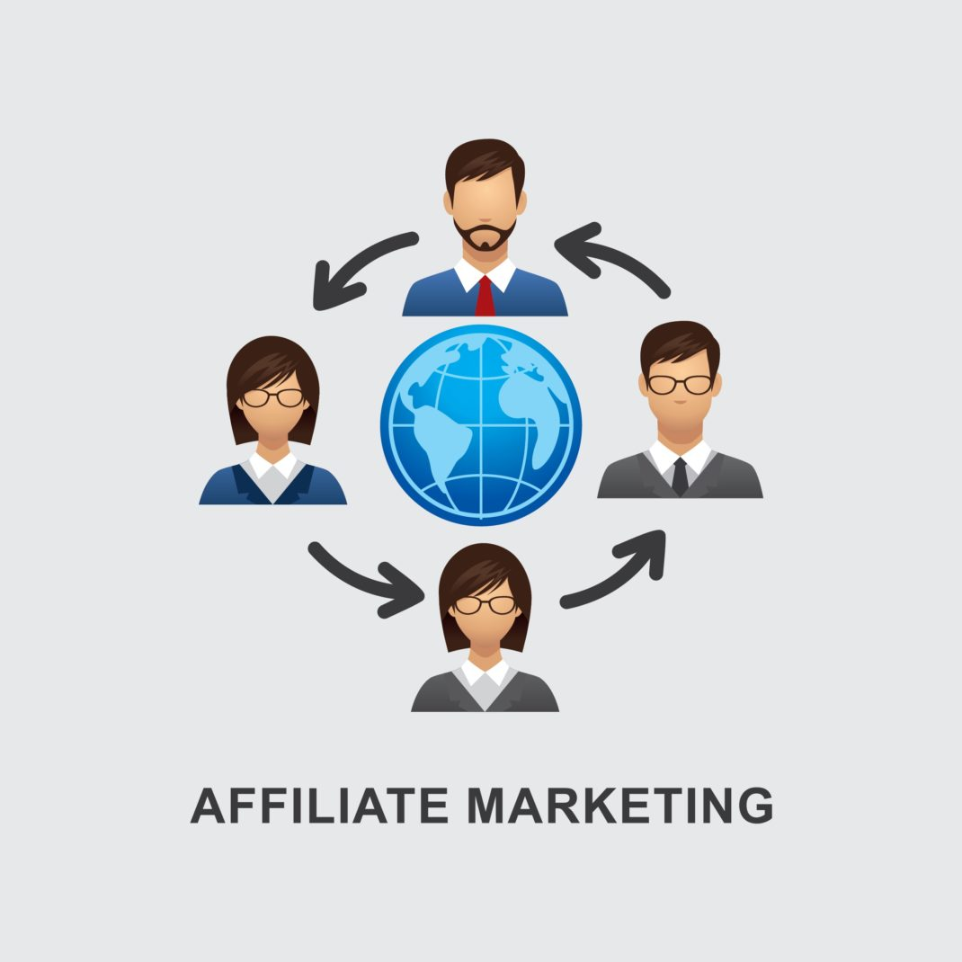 <strong>Affiliate marketing</strong>