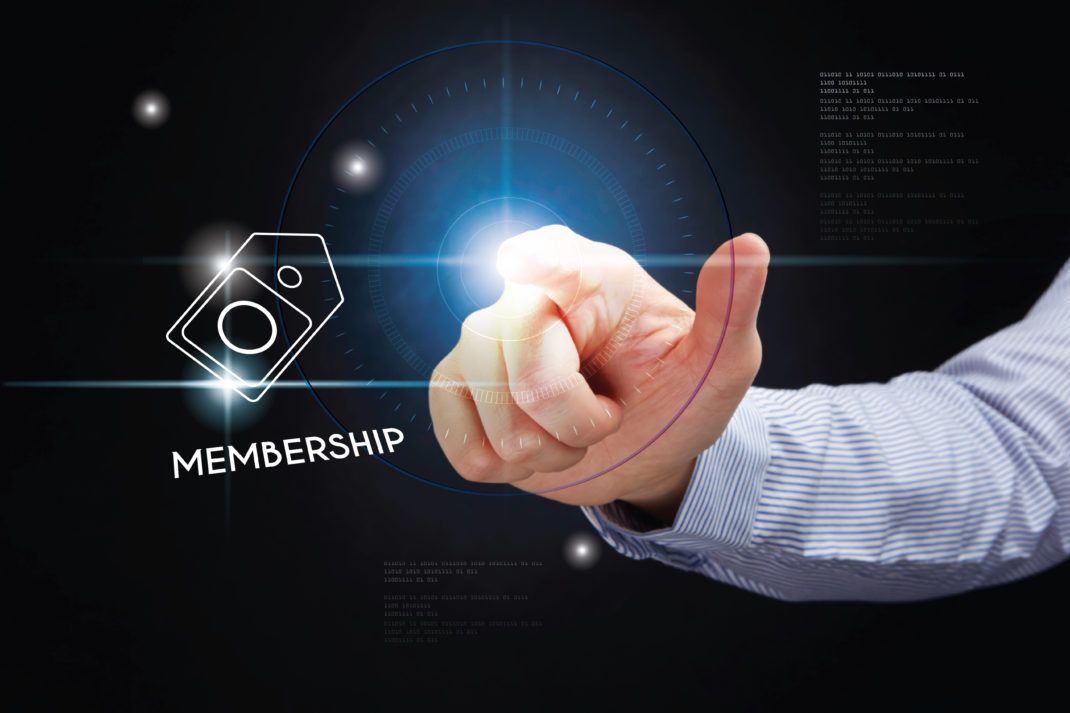 Paid content membership