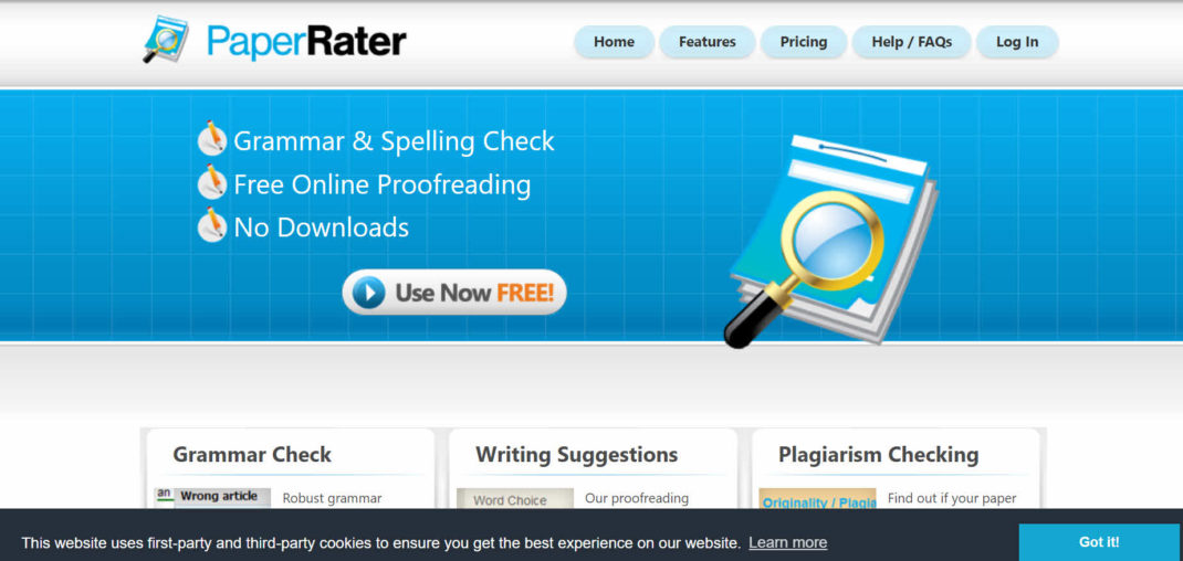 Paperrater - Free Online Proofing Tools