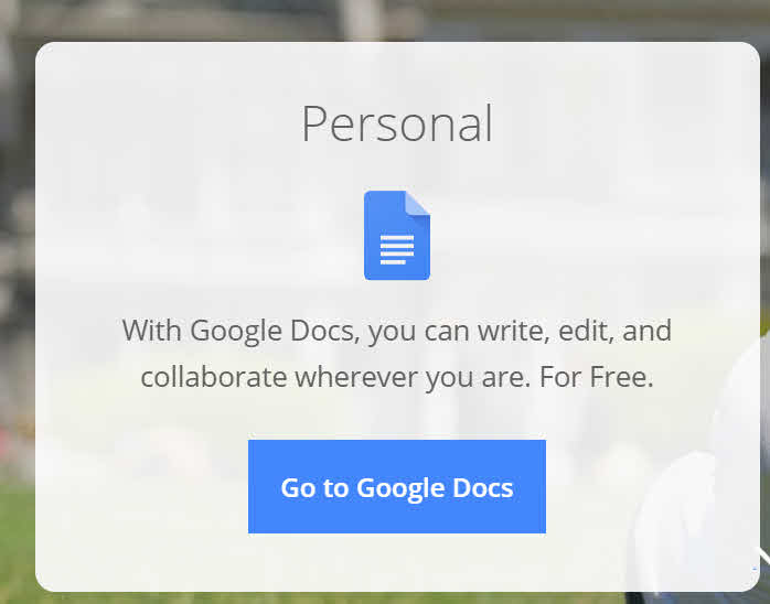 Google Docs - Free Online Proofing Tools