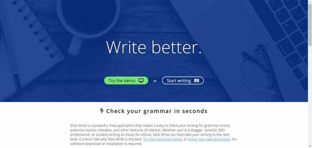 SlickWrite - Free Online Proofing Tools