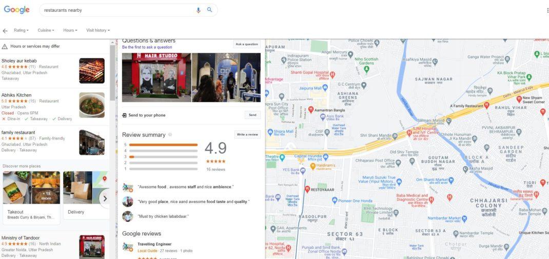 Google Map Reviews