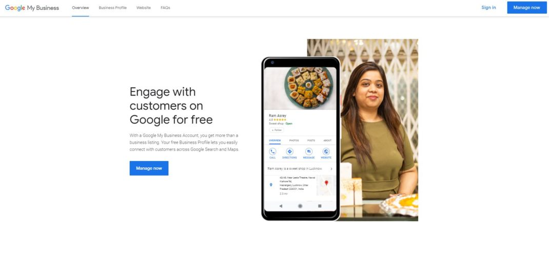 Google My Business – for Local SEO Services