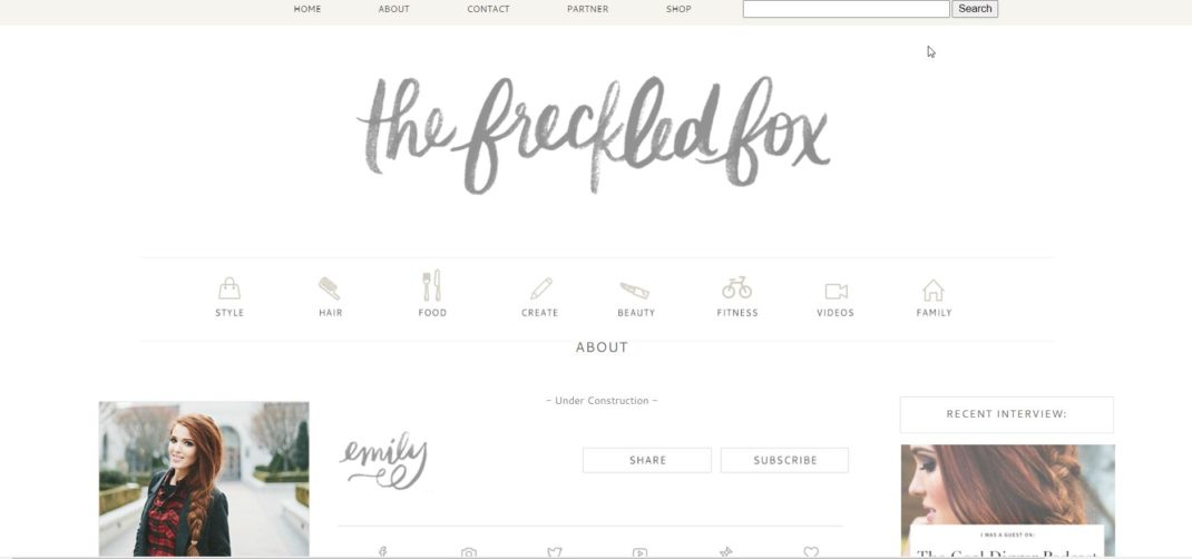 The Freckled Fox