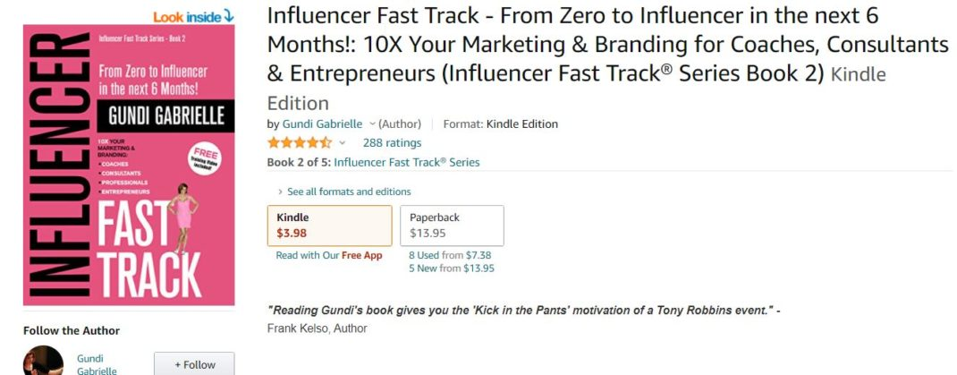 Influencer Fast Track - From Zero to Influencer in the next 6 Months