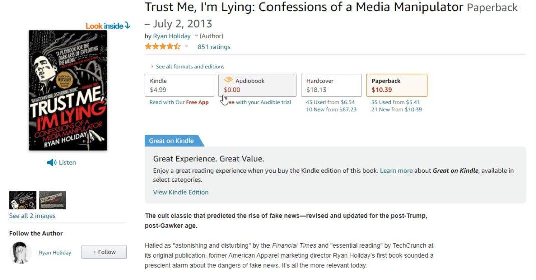 Trust Me, I'm Lying_ Confessions of a Media Manipulator_ Holiday, Ryan